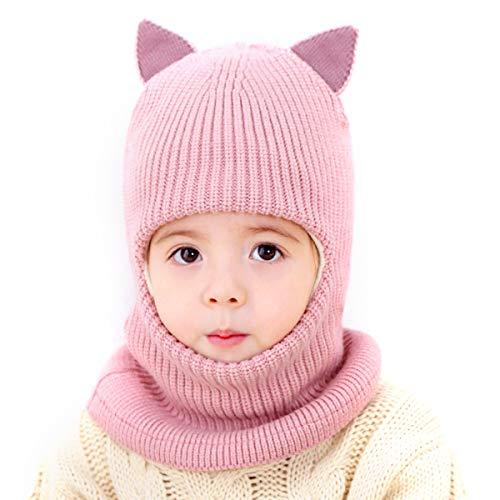 Laelr chaud hiver d'enfants chapeau et écharpe, bonnet...