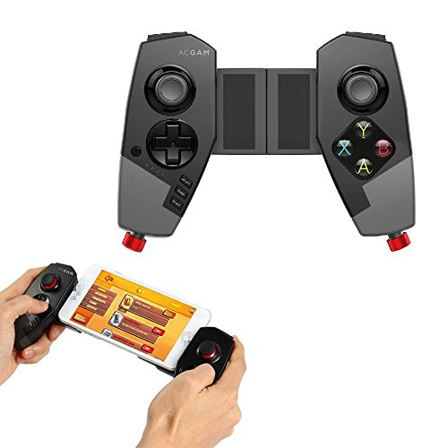 Ipega PG-9055 Red Spider Stretchable Bluetooth PC Gamepad Game Controller für iPhone / iPad / TV Box / Samsung Android & IOS Smartphones (6 Top-marke Iphone Fall)