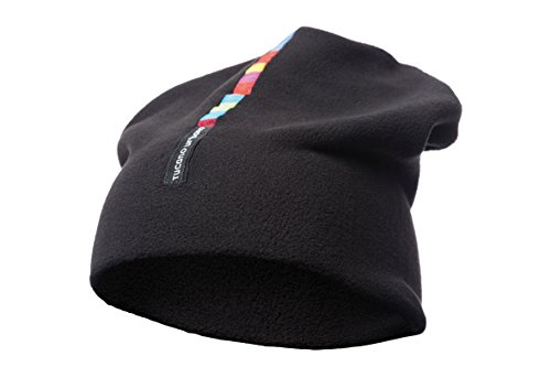 Tucano urbano collare cappello 614n in pile nero