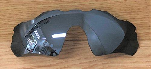 MZM Polarisierte Ersatzgläser für Oakley Radar Ev Path ( wählen Sie Die Farbe) (Black Iridium)