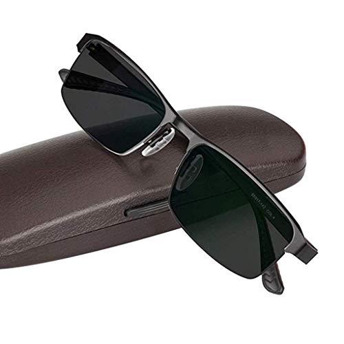 Axclg Reading glasses Lupe Intelligente farbwechselnde Lesebrille, Sonnenbrille mit Sonnenschutz im Freien, Federscharniere aus Metall, Sonnenbrille, Unisex