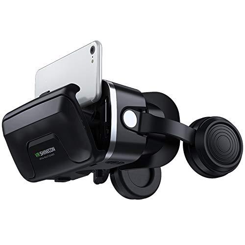 Casque VR 3D VR Lunettes de réalité virtuelle VR Casque pour Jeux et Films Virtuelle Lunettes Casque avec Autres Smartphones sous Android 4,5 à 6,0