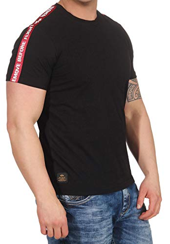 Alpha Industries RBF Tape T-Shirt Schwarz M -