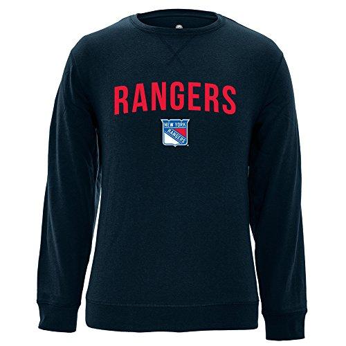 Levelwear LEY9R NHL City Crew OG Crewneck Sweatshirt, Herren, City Crew OG Crewneck Sweatshirt, Navy, Small City Crewneck Sweatshirts