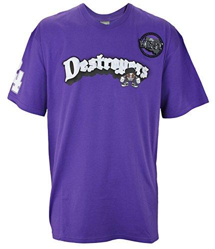 Nike Herren # 24Kobe Bryant Destroyers West Shirt, Violett, Herren, violett, XXX-Large