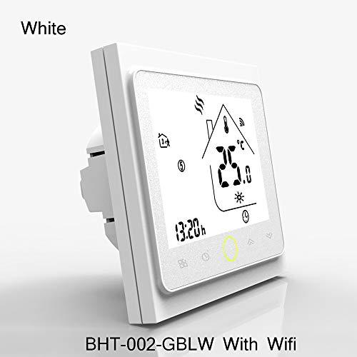 WiFi Thermostat Temperaturregler für Wasser/Elektrische Bodenheizung Wasser/Gas-Boiler kompatibel mit Alexa Google Home 3A 16A -