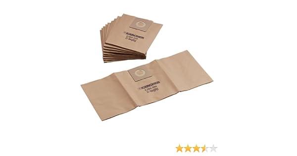 Import Allemagne K/ärcher 6.906-104.0 Lot de 10 sacs filtrants pour NT 501 //NT 551