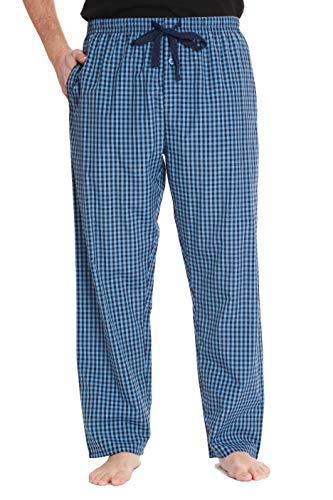 #followme Plaid Herren Pyjamahose PJ Hose zum Schlafen und Loungewear - Blau - XXX-Large -