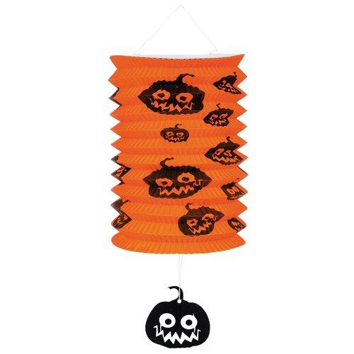 Idena 8312505 - Lampion Zuglaterne Halloween, Mehrfarbig