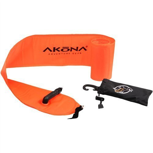 akona-hi-viz-safety-tube-orange-40-inch-by-world-wide-scuba-llc