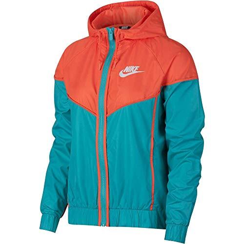 Nike Damen NSW WR Jacke, Cabana/Turf Orange/White, - Damen Nike Windjacke