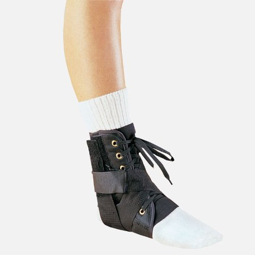 Webly Ankle Orthosis - Medium - Powerful lace up support for ankle sprains, strains and injuries. (Medium) by Hely & Weber -