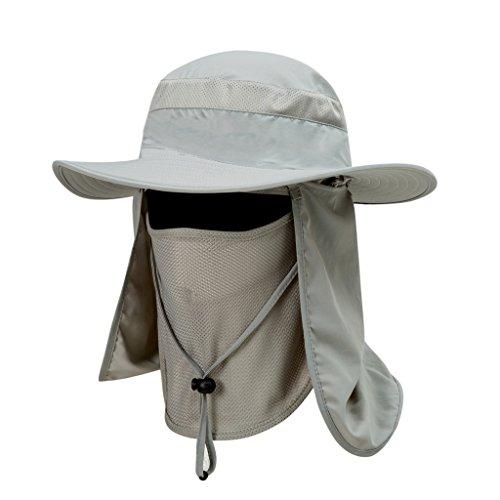 Saoirse Outdoor Sommer Hut Rundumschutz Abnehmbare Bergsteigen Angeln Schirmmütze