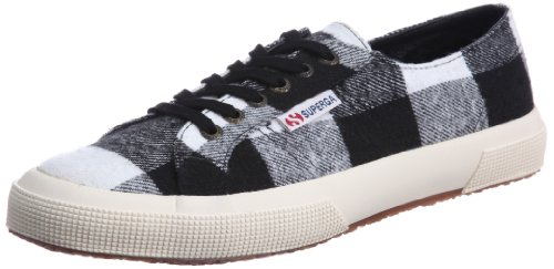 Superga 2750- TWD1U S0041R0, Sneaker uomo bianco (Off White-Black)