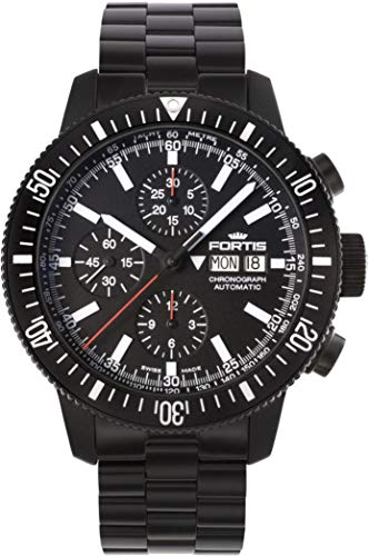 Fortis B-42 Monolith 638.18.31.M Automatic Mens Chronograph PVD-plated