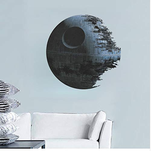 schließlich Waffe Death Star Star War Wandaufkleber Film Fans Wohnkultur Kinder Wand Aufkleber Wandbild Kunst Cartoon