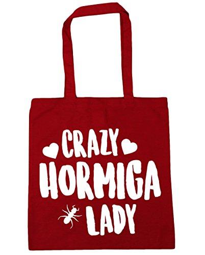 hippowarehouse-crazy-hormiga-lady-bolso-de-playa-bolsa-compra-con-asas-para-gimnasio-42cm-x-38cm-10-