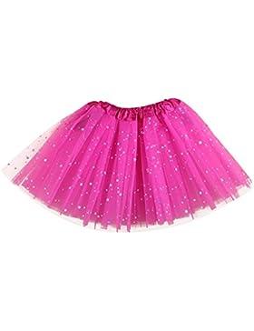 Free Fisher -bambino scherza principessa delle ragazze Stelle Paillettes Dance Party Ballet Tutu Gonne