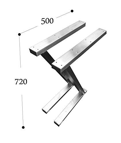 CHYRKA Z- Estructura tableros Mesa Diseño pie Mesa