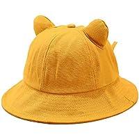Rinder - Sombrero de verano, diseño de orejas de gato, pescador de playa, sombrero de sol, para pesca al aire libre, camping, ciclismo, E