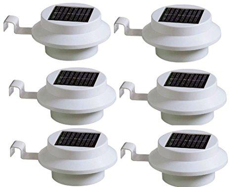 Luci Da Esterno Giardino Solari : Luci a led da esterno alimentate da pannello solare per recinti