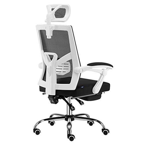 Schreibtischstühle Bürostuhl Stuhl Computer Stuhl Hause Stuhl ergonomischer bürostuhl Hause Student Stuhl Computer Stuhl bürostuhl, super Last tragend (Color : Black, Size : 64 * 65 * 123cm) -
