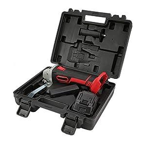 41tBUxC0ExL. SS300  - Amoladora angular, herramienta de mano profesional recargable, sin escobillas, sin cable, li-lon amoladora angular (220V)