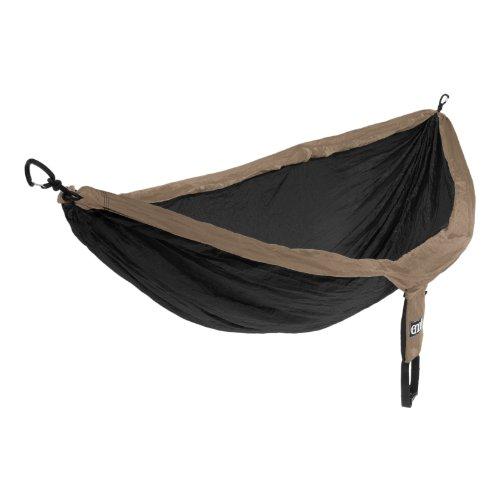 Eno Double Nest Hammock Khaki Black (Hängematte Nest Eagles Outfitters)