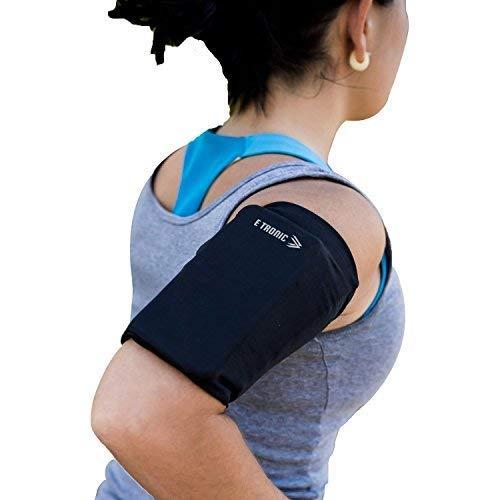 Sportiva da Braccio Sweatproof Bracciale per Corsa, Esercizi, & Running Porta Cellulare Braccio, Accessori per iPhone 5 5S 6 6S 7 7S 8 8 Plus X , Samsung Galaxy S5, S6, S7, S6 - Universale
