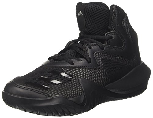 brand new 70a7e 3d728 Adidas Crazy Team K, Chaussures de Running Mixte Enfant, Multicolore (MGH  Solid Grey