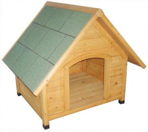 Hundehütte, Hundehaus, Gartenhütte für den Hund aus Holz