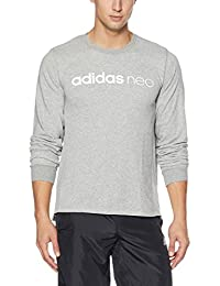 Adidas Men's Cotton Round Neck Sweatshirt