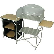 10t Outdoor Equipment 10T Kitchenette Armario de camping, Plateado, Estándar