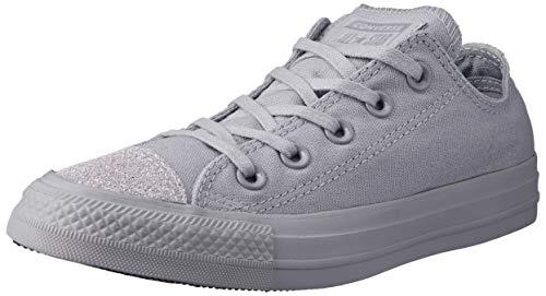 Converse Damen Chuck Taylor All Stars Sneaker Grau Wolf Grey/Silver 000, 41 EU (Converse Rutschfeste Schuhe)