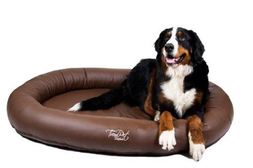 Artikelbild: TrendPet 'Comfado' 130x90cm Espresso, Luxus Hundebett aus Soft-Kunstleder 'Das Hundebett'