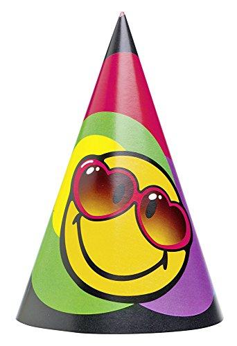 Amscan–250162–6Partyhüte mit (P Party Thema Kostüm)