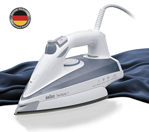 Braun TS735TP Fer à Repasser Plastique Blanc/Gris 28 x 11 x 14...