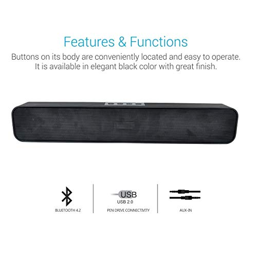 FIEUSCHE® Bluetooth Wireless Speaker TG113 (1441)