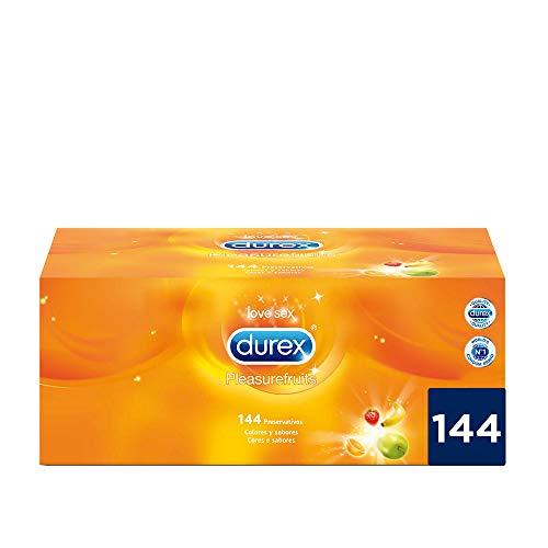 Durex Preservativos Saboreame - 144 Condones Sabores