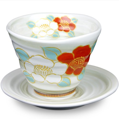 Japanese Arita ware Tea cup & Saucer Sazanka (Tea cup for sale  Delivered anywhere in UK