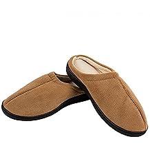 El Gel Miracle Slippers Color Marrón–Zapatillas de gel antifatiga. Producto Original con Real Gel. Como visto en TV.