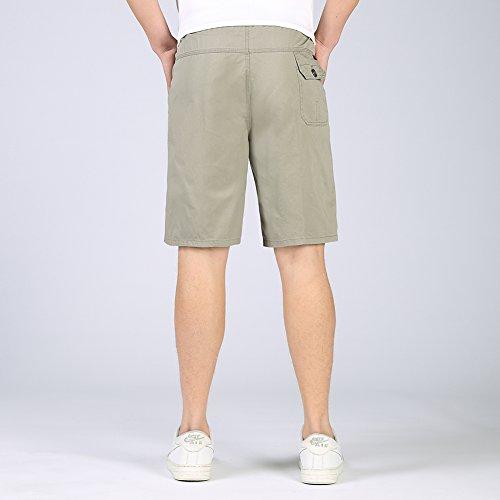 Insun -  Pantaloncini  - Uomo Light Grey