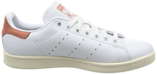 adidas Stan Smith, Chaussures de Fitness Homme Blanc (Footwear White/footwear White/raw Pink)
