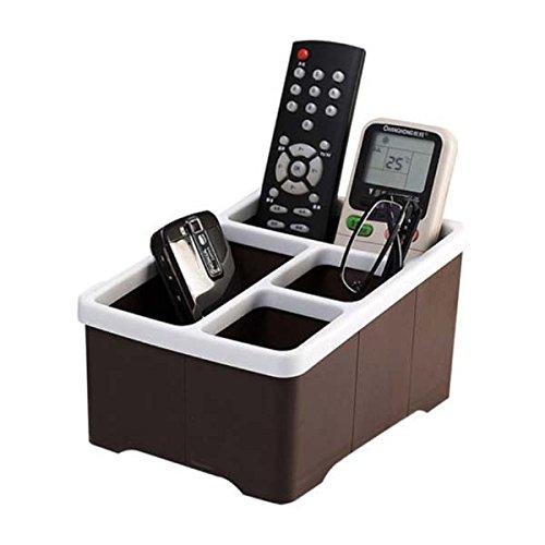 Krevia Kretix New Modern Remote Control Organizer Stand Shelf Rack Holder Universal Tv Dvd Ac,(1,Pcs)