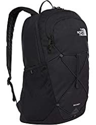 The North Face Rodey Mochila, Unisex Adulto, Black/TNF White, OS
