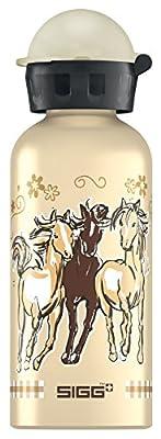 Sigg Trinkflasche Horses, Beige/Gold, 0.4 Liter, 8321.70