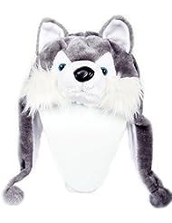 DealMagik Gorro Husky gris – Gorro de esquí para niños