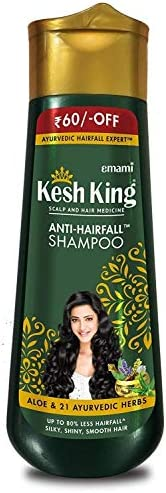 Kesh King Anti Hairfall Shampoo with aloe and 21 herbs, 340ml