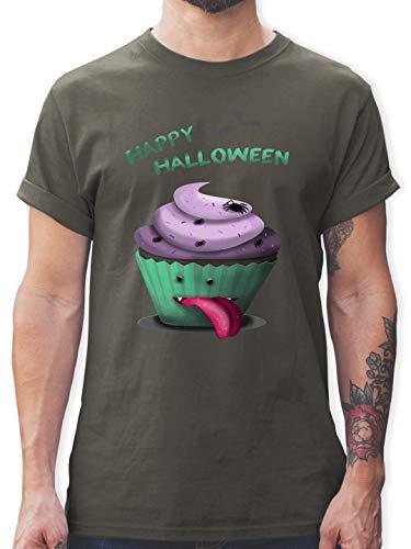 Halloween - Halloween Treats - M - Dunkelgrau - L190 - Herren T-Shirt Rundhals