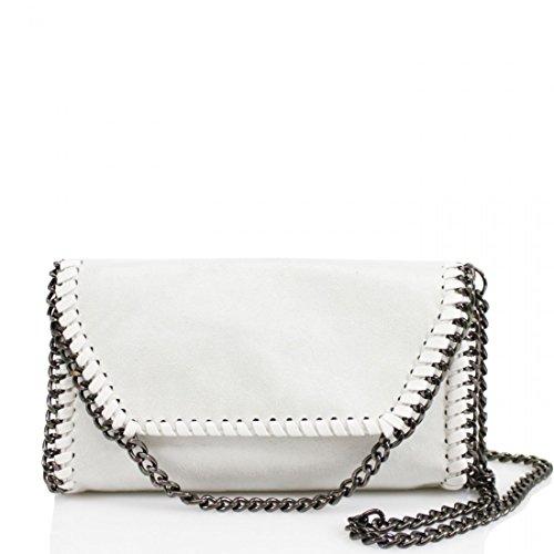 3df4c7fced Womens Stella Design Chain Detail Cross Body Bag Ladies Shoulder bag Work  New White - Buy Online in Oman.